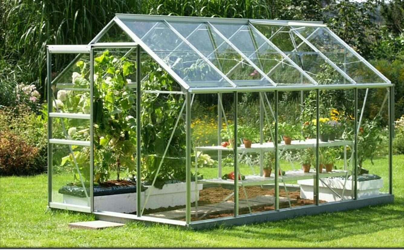 ساخت گلخانه های خانگی