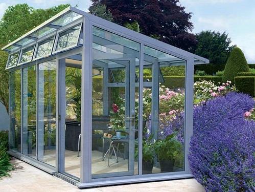 طراحی و ساخت گلخانه خانگی